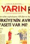 Türkiye ve Dünyada YARIN Yıl: 1 Sayı: 3 Temmuz 2002