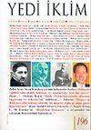Sayı: 196 Temmuz 2006 / Edebiyat Kültür Sanat Aylık Dergisi