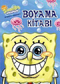 Sünger Bob Boyama Kitabı 48 Sayfa Kitapyurducom