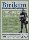 Birikim / Sayı:273 Yıl: 2012 / Aylık Sosyalist Kültür Dergisi