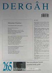 Dergah Edebiyat Sanat Kültür Dergisi Sayı:265 Mart 2012