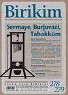 Birikim / Sayı:278-279 Yıl: 2012 / Aylık Sosyalist Kültür Dergisi