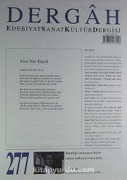 Dergah Edebiyat Sanat Kültür Dergisi Sayı:277 Mart 2013
