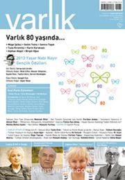 Varlık Aylık Edebiyat ve Kültür Dergisi Temmuz 2013
