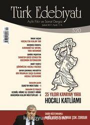 Türk Edebiyatı Aylık Fikir ve Sanat Dergisi Şubat 2017 Sayı 520