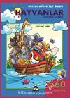 Hayvanlar Çıkartma Kitabım / Akıllı Minik ile Obur Dizisi