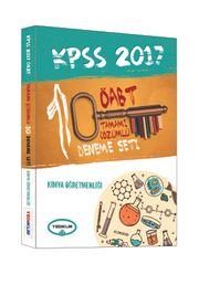 2017 KPSS ÖABT Kimya Öğretmenliği Tamamı Çözümlü 10 Deneme Seti