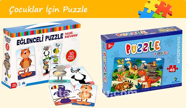Çocuklar İçin Puzzle