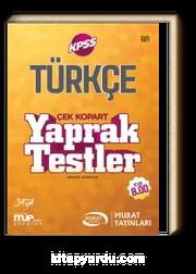 KPSS Türkçe Çek Kopart Yaprak Testler (1071)