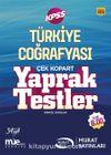 KPSS Türkiye Coğrafyası Çek Kopart Yaprak Testler (1074