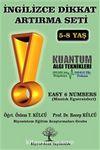 İngilizce Dikkat Artırma Seti 6. Kitap & Easy 6 Numbers (Mantık Egzersizleri)