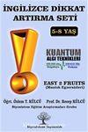 İngilizce Dikkat Artırma Seti 2. Kitap & Easy 2 Fruits (Mantık Egzersizleri)