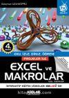 Projeler ile Excel ve Makrolar & Oku, İzle, Dinle, Öğren!
