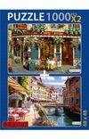 Jolly Friar Annecy 2x1000 Parça Puzzle Takım
