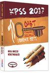 2017 KPSS ÖABT Okul Öncesi Öğretmenliği Tamamı Çözümlü Deneme Seti