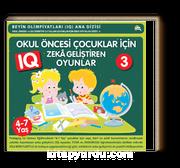 Okul Öncesi Çocuklar İçin IQ Zeka Geliştiren Oyunlar 3  (4- 7 Yaş)            .