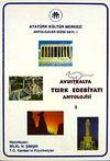 Avusturalya Edebiyatı Antolojisi (2 Cilt)