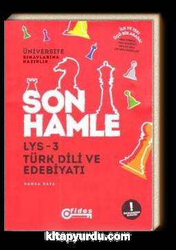 LYS 3 Türk Dili ve Edebiyatı Son Hamle