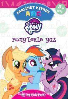 MLP Ponylerle Yaz A B C Faaliyet Kitabı