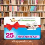 Kitap Hediye Kartı (25 TL)