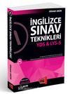 YDS & LYS-5 İngilizce Sınav Teknikleri