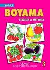 Eğitici Boyama Sebzeler ve Meyveler-3