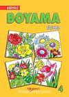 Eğitici Boyama Çiçekler-4