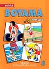 Eğitici Boyama Sporcular-8