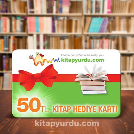Kitap Hediye Kartı (50 TL)