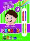 Kalemli Boyama 3 / Türkçe - İngilizce Meyveleri Öğreniyorum