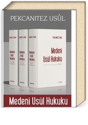 Pekcanıtez Usul - Medeni Usul Hukuku (3 Cilt)