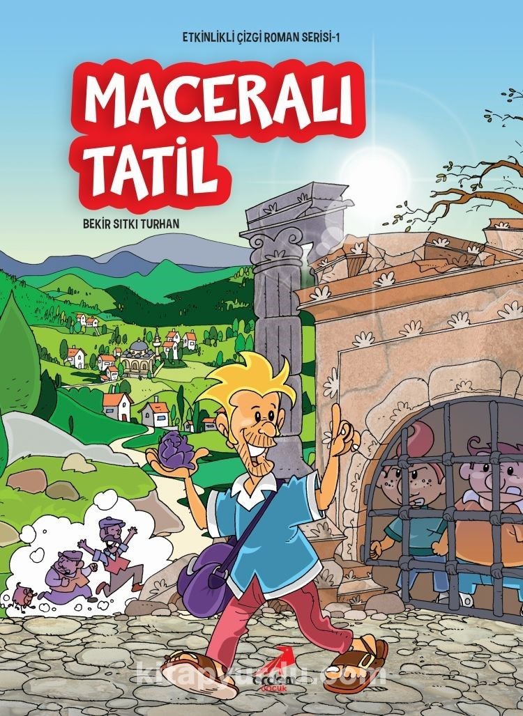 Maceralı Tatil / Etkinlikli Çizgi Roman Serisi 1 - Bekir Sıtkı Turhan pdf epub
