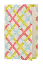 Kitap Kılıfı - Renkli Bantlar (XL - 33x22cm)