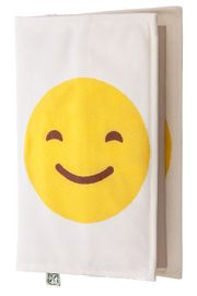 Kitap Kılıfı - Mutlu - Üzgün Emoji (M - 31x21cm)
