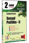 2. Sınıf 4. Yarıyıl Sosyal Politika 2 Bahar Dönemi (Kod:4176)