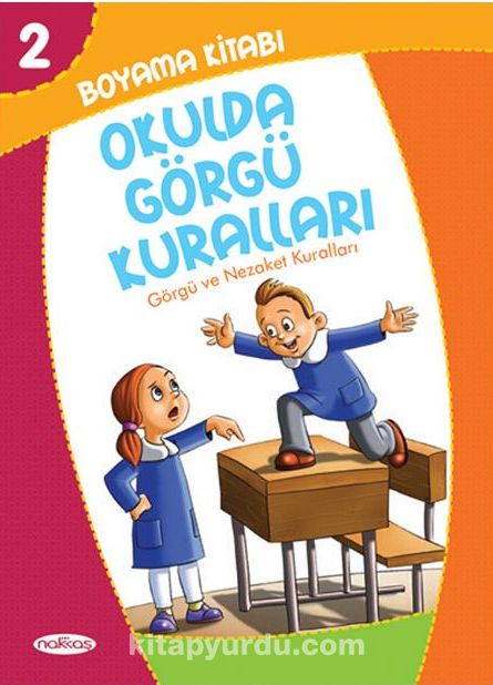 Okulda Görgü Kuralları Boyama Kitabı 2 Görgü Ve Nezaket