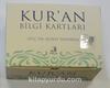 Kur'an Bilgi Kartları/Özel Çantalı 114 Kart