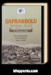 Safranbolu Şer'iyye Sicili 2116 Numaralı Defter