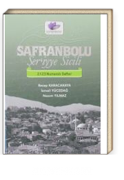 Safranbolu Şer'iyye Sicili 2123 Numaralı Defter