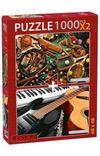Musıcal Instruments-Classıc Sports 2x1000 Parça Puzzle Takım