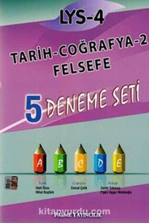 LYS - 4 Tarih-Coğrafya-2 -Felsefe 5 Deneme Seti - Kollektif pdf epub