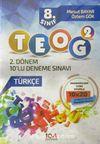8. Sınıf TEOG 2 Türkçe  2. Dönem 10'lu Deneme Sınavı