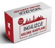 İngilizce Kelime Öğreten Kartlar 3. Kutu Kırmızı (Kırmızı Kutu)