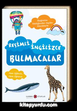 Resimli İngilizce Bulmacalar & İlköğretim Sözlüğü'nden Seçilen Sözcüklerle