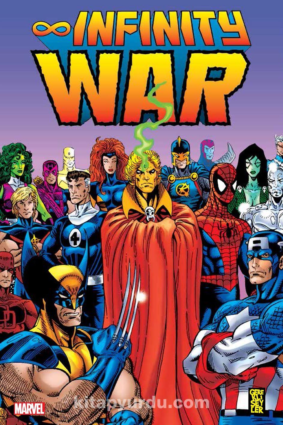 Infinity War - Jim Starlin pdf epub