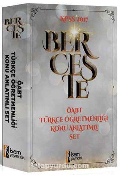 2017 ÖABT Berceste Türkçe Öğretmenliği Konu Anlatımlı Modüler Set (3 Kitap) - Kollektif pdf epub