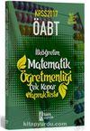 2017 ÖABT İlköğretim Matematik Öğretmenliği Çek Kopar Yaprak Test