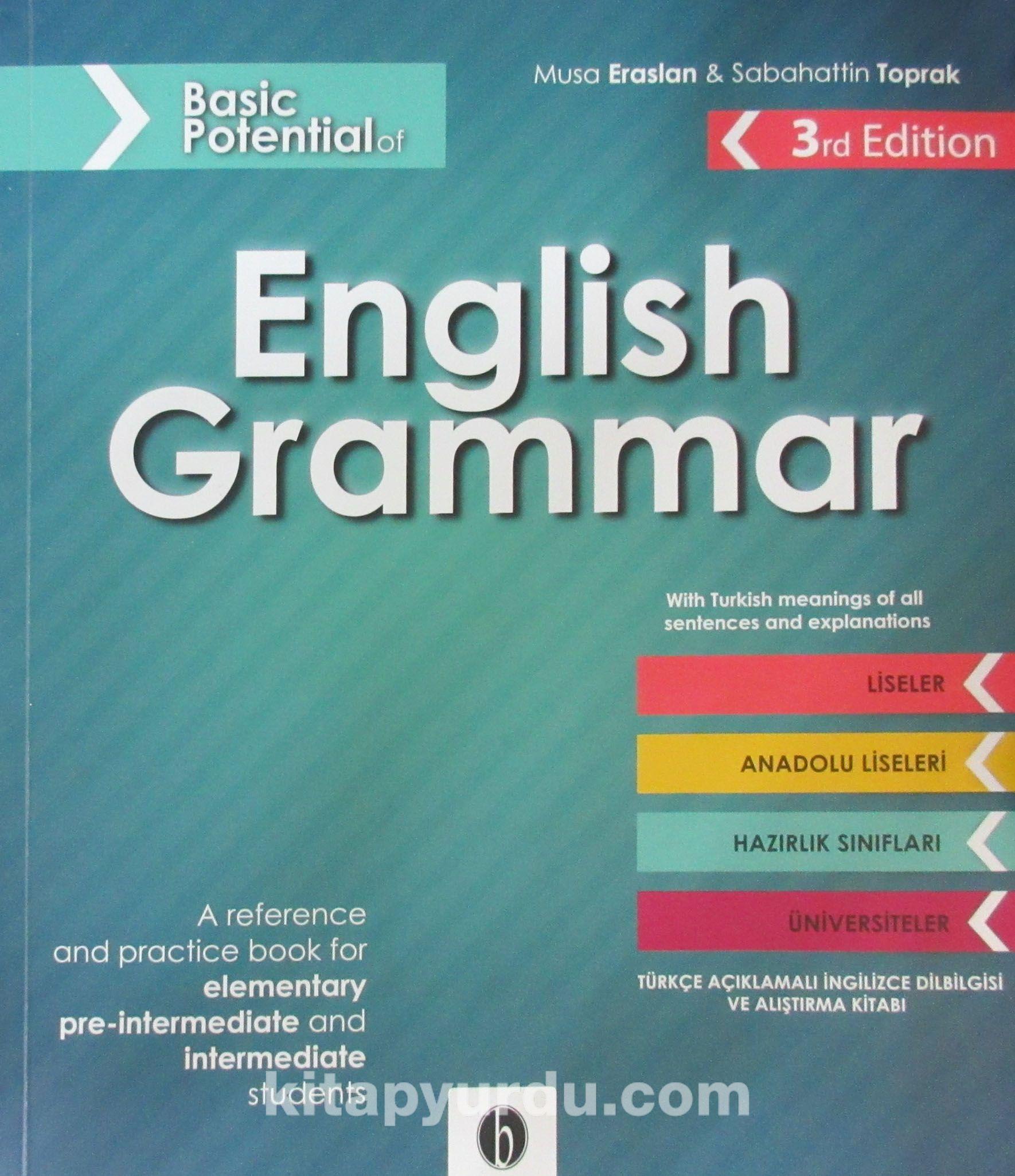 ingilizce gramer kitabı