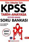 KPSS 2010 Tüm Adaylar için Tarih-Anayasa (2'si Bir Arada) Soru Bankası 6500 Soru