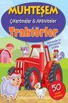 Muhteşem Çıkartmalar-Aktiviteler Traktörler